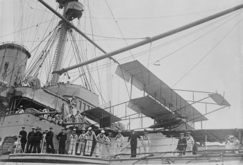 However, although the Wright Brothers had flown their first aeroplane in 1903 and Count Ferdinand von Zeppelin was to begin airship passenger flights in 1908, the first aircraft was not to fly from a Royal Navy ship until 1912. The Edwardian period was therefore one of torpedo boats ranged against torpedo boat destroyers, cruisers scouting ahead of grand fleets and battleships preparing to take on battleships. Similarly, before the advent of radar and sonar, the best environmental sensor was the mark one human eyeball.