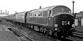 Also, the North British Locomotive Company of Glasgow had acquired licences to build Voith hydraulic transmissions in 1951 and Maschinenwerke Augsburg Nurnburg engines in 1945. As a result, Western Region's Chief Mechanical Engineer, Mr R.A. Smeddle, persuaded the British Transport Commission – in overall charge of British Railways - to order a pilot batch of 2 000 horsepower diesel hydraulics from North British on 16 November 1955. Unfortunately North British - like the rest of the home locomotive building community - knew nothing of the stressed skin monocoque techniques that had allowed the light weight of the V 200s to be achieved. Consequently, despite the use of aluminium cabs, the first of these – numbered D600 - left Glasgow late in 1957 with heavy fabricated steel underframes and weighing over 117 tons. However, given that its rival 2 000 horsepower diesel electric design from English Electric – later Class 40 - weighed 133 tons, the 65' long D600 with its distinctive spoked wheels looked promising. But Western Region were not happy that much of the hydraulic's theoretical advantages had been lost. As a result they began their own design and building programme at Swindon which resulted in the stressed skin D800 series.