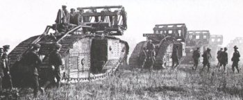 Haig was aware of this concept, having earlier approved Colonel Swinton's Notes, but he felt that time was not on his side. The tank was still an untried - and far from perfect - weapon and it would have been difficult to keep larger quantities of armoured fighting vehicles a closely guarded secret - thus giving the Germans time to plan counter measures. Autumn was also fast approaching and, despite the sacrifice of surprise, Haig was determined to use every tank available in what he saw as being his last great effort of 1916 to break the German lines.