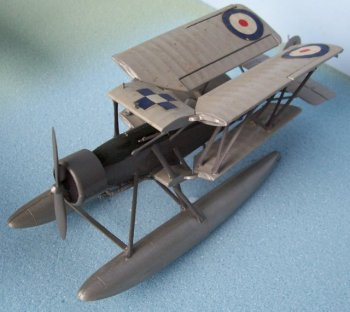 The Blackburn Shark was another pre-war carrier-borne torpedo-bomber and reconaissance biplane, which also operated at coastal stations and as a seaplane. The Shark prototype was first flown on 24 August 1933 and - fitted with twin floats -was test flown at Brough, East Yorkshire, in April 1935. The Shark served with the Fleet Air Arm, Royal Canadian Air Force, Portuguese Navy, and the British Air Observers' School, but was replaced in front line service by the Fairey Swordfish from 1938. The final Blackburn Sharks - K8931 and P348 – were finally retired in July 1944 and in March 1945 respectively. Royal Canadian Air Force Blackburn Sharks, some of which operated as floatplanes, were withdrawn from service in August 1944 and five were then transferred to the RN Air Observers' School in Trinidad.