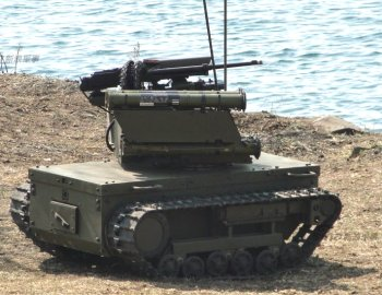 "The possible asymmetric urban warfare of the future however might favour such small tanks as the Russian Platform M. Only 5' 2"" long, it is fitted with rocket propelled grenade launchers and machine guns and can be air dropped on to a battlefield."