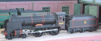 """Fitted with three 16 1/2"""" x 26"""" cylinders acting on 6' 7"""" driving wheels, they offered a greater tractive effort than the earlier King Arthur 4-6-0s and became the only 4-4-0s ever to be given a 5P rating by British Railways."""