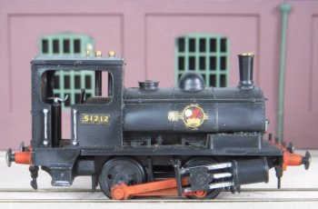 """Moving off the Southern Railway and back to the northern English roots of the iron road was ex Lancashire & Yorkshire """"Pug"""" 0-4-0ST 51212, very much built as per instructions rather than the examples kit-bashed by Ron Brooks!"""