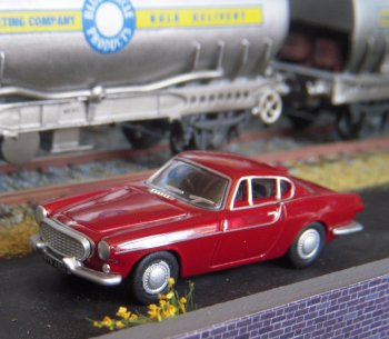 The Volvo P1800 was a two-door, two-passenger, front-engined, rear-drive sports car which Volvo produced as a coupé between 1961 and 1973, making a short sortie into a shooting brake version between 1972-73