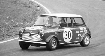 John Cooper recognized the transverse-engined Mini's excellent attributes as a quick and nimble performer with great potential on the motorsport circuits.