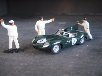 Following on from the C Type with its minimalist Barchetta style aluminium body, the D Type of 1954 kept many of its predecessor's mechanical components including the basic XK engine.