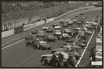 Similarly, until 1970, the drivers would begin the race by running across the track, getting into their cars and starting off unaided - the famous Le Mans start.