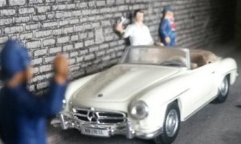 The Mercedes Benz 300 SL is still one of the most distinctive and stylish cars ever made. The fastest production model of its day, the 3 litre grand tourer with gull wing doors also broke new ground in offering a fuel injection engine