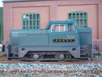 The Sentinel Wagon Works Ltd was founded in Glasgow in 1875 as Ally & MacLellan and after a number of name and location changes it became part of the Rolls Royce family as Sentinel (Shrewsbury) Ltd in 1957. Production of steam locomotives and lorries ceased in 1958 and in 1959 a Sentinel prototype diesel shunter was trialled on the military controlled Shropshire and Montgomeryshire Railway - once a Colonel Holman F. Stephens line. 1963 saw the introduction of the 34 ton chain drive 4 wheel Rolls Royce diesel powered Sentinel shunter rated at 233 bhp. This engine was later uprated to 255 bhp and similar six and eight wheeled locomotives later found work in collieries, dockyards, quarries, foundries and even on Portuguese Railways.