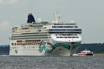 "Our Monday 12 February meeting took the form of a PowerPoint presentation by branch member Keith Reed entitled ""Transatlantic Westbound"" about his autumn 2016 voyage aboard Norwegian Cruise Line's NORWEGIAN JADE ( IMO 9304507 93,558 grt 7,500 deadweight) from Barcelona to Tampa, Florida, by way of Cartagena, Malaga, Madeira, Nassau and Miami."