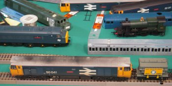 Also helping to make the show a success was the children's 00 Gauge Thomas layout and modelling demonstrations by Steve Harrod, Mark Begley, Trevor Hale and Andi Dell. Traders included Cheltenham Model Centre and Penduke Models, Clive Reid, Stewart Blencowe,