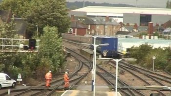 Meanwhile, at about 20:15 on 15 October 2013, a container train operated by Direct Rail Services, derailed about 4 miles (6.4 km) south west of Gloucester station on the railway line from Newport via Lydney.