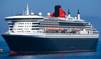 To put these vessels into context, Ted's presentation also referred to Cunard's QUEEN MARY II (IMO 9241061, 149 215 grt). Built in France by S.T.X with an overall length of 346 metres and 49 metre beam she set ail on her maiden voyage on 12 January 2004