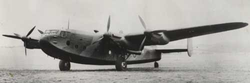 "Avro Yorks were also popular as personal transports.  Winston Churchill's LV633 ""Ascalon""- the third prototype York and the first of the type with triple fins - had square windows instead of the usual round ones. It was allocated - but never carried - the civil registration G-AGFT."