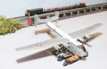 The 1/144 scale model of a Blackburn Beverley transport in the Jet Age Museum's Reserve Model Collection is a rarity from the collection of the late Ron Firth of Sheffield: a Yorkshire built model of a Yorkshire built aircraft named after a Yorkshire town.